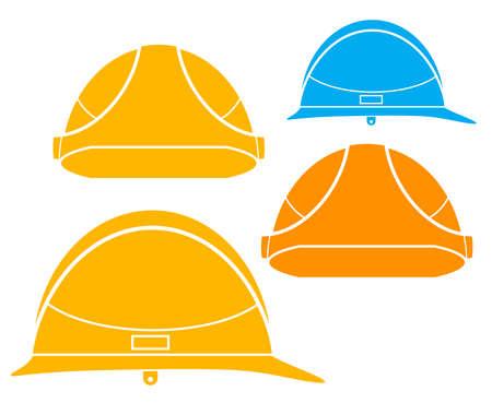 headwear: Hardhat Illustration