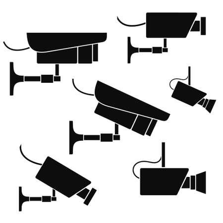 camera icon: Security Camera Illustration