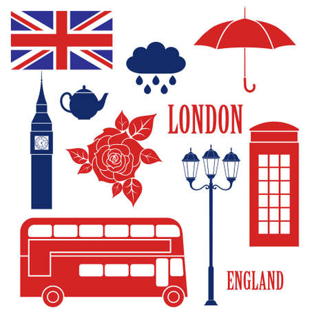 bus anglais: Londres Illustration