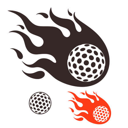 fire ball: Golf