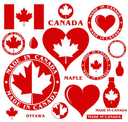 Canada Illustration