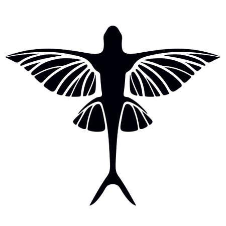 Des poissons volants Vecteurs