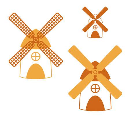 molino de agua: Ilustraciones Mill Vectores