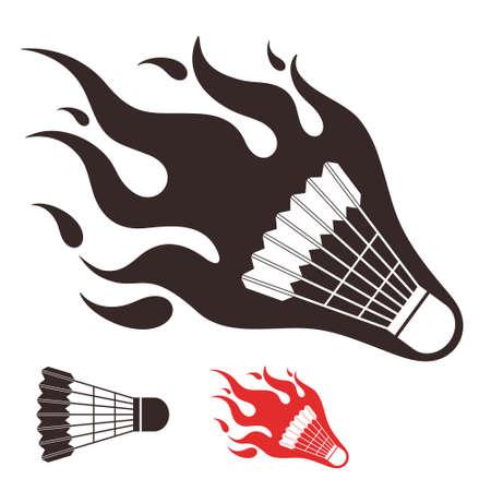 badminton sport symbol: Badminton Illustration