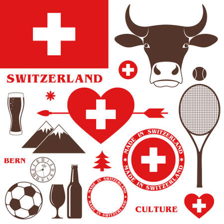swiss alps: Switzerland