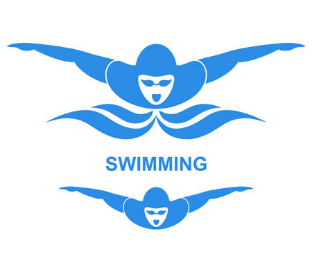 Swimming illustration