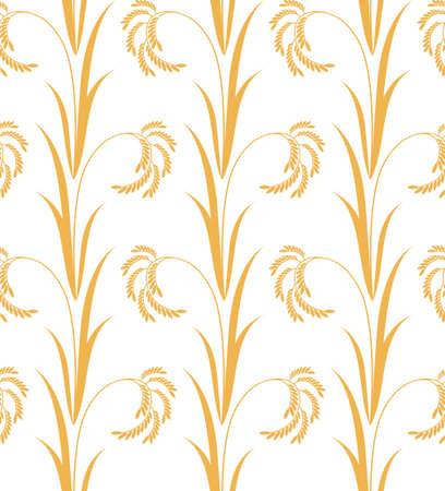 Rice pattern illustration