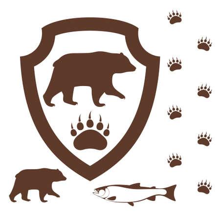 paw print: Bear