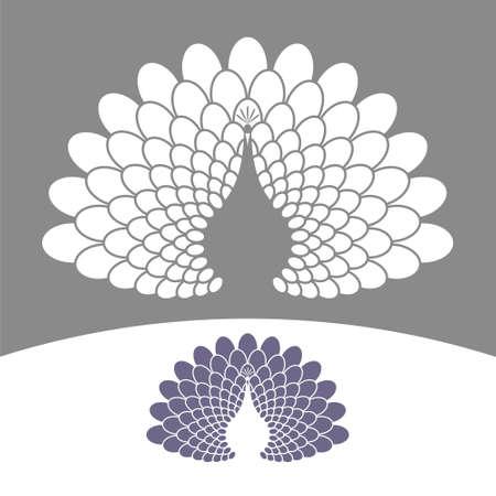 peacock design: Peacock