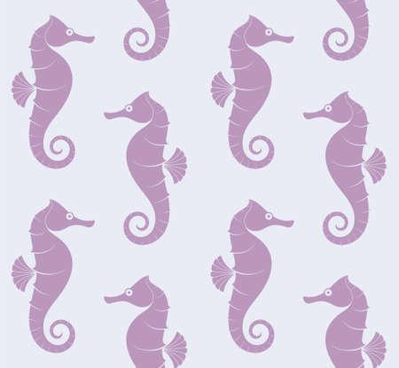 sea horse: Sea Horse. Pattern