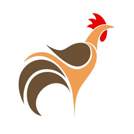 Cock. Logo Vector