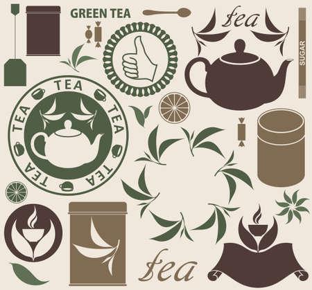 Tea  イラスト・ベクター素材