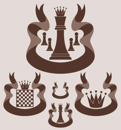 Chess. Symbol Illustration