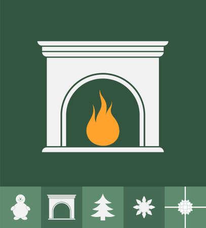 fireplace christmas: Fireplace