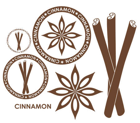 cinnamon stick: Cinnamon Illustration