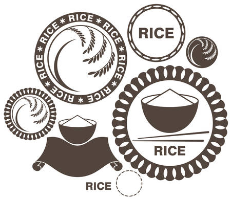 rice plate: Rice