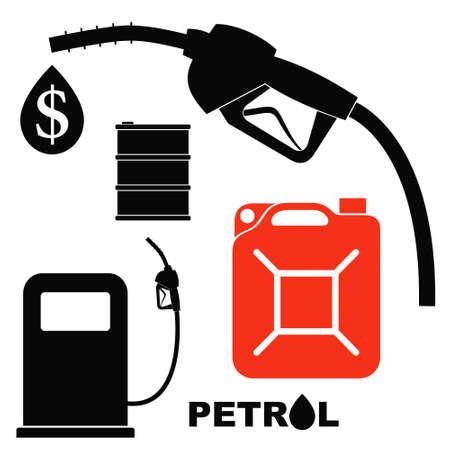 petrol can: Petrol