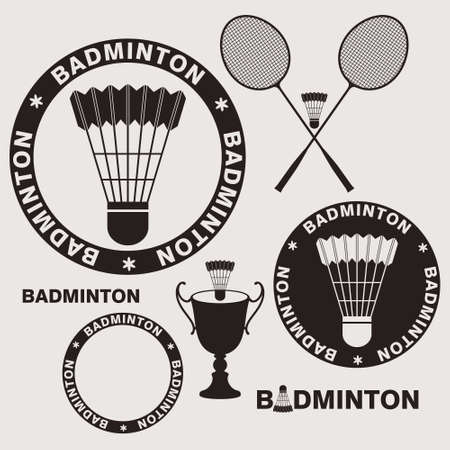 badminton: Badminton Illustration