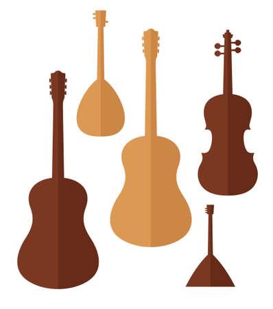 folk music: Musical Instrument Illustration