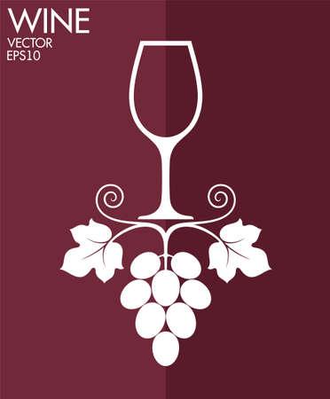 Wine  イラスト・ベクター素材