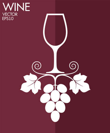 french culture: Wine Illustration