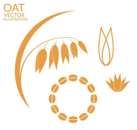 seeds: Oat. Set