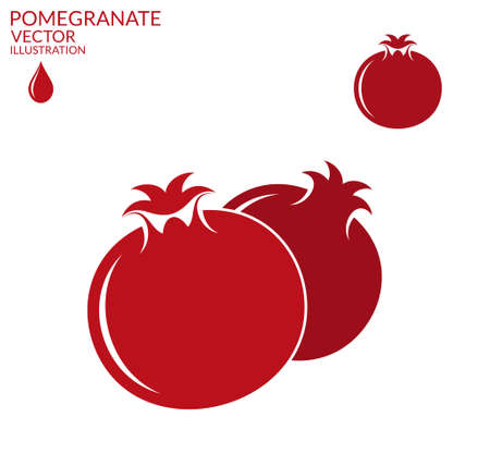 pomegranates: Pomegranate. Set