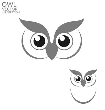 Owl  イラスト・ベクター素材