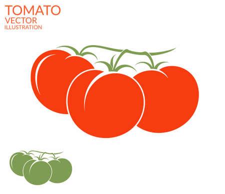 jitomates: Tomate. Rama Vectores