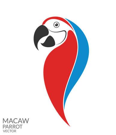 guacamaya: Parrot. Guacamayo