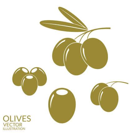 antioxidant: Olives. Set