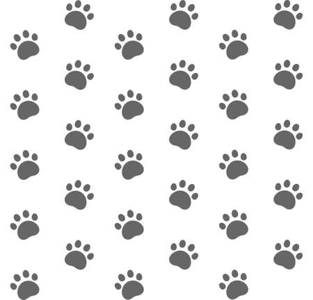 animal tracks: Cat. Pattern