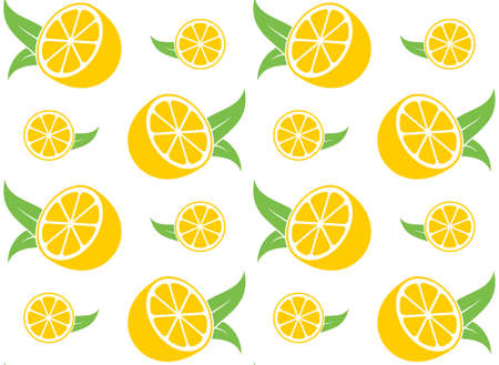half: Lemon. Pattern