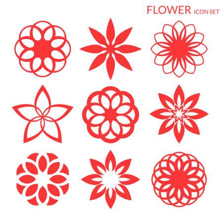 flower icon: Flower. Icon set