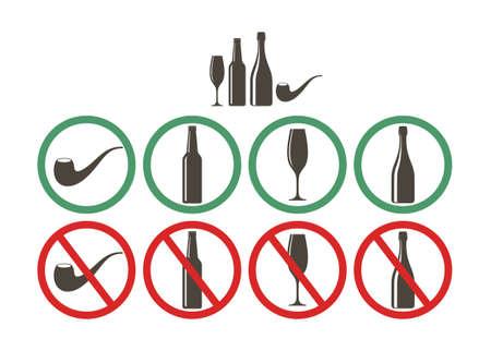 Do not drink. Do not smoke
