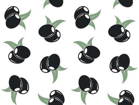 abstract seamless: Pattern. Olive