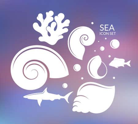 reef: Ocean. Reef Illustration