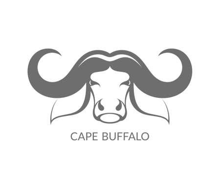 Cape buffalo Stock Vector - 51297147