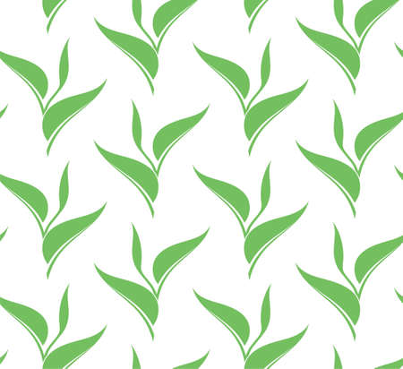 seamless pattern: Leaf. Seamless pattern Illustration