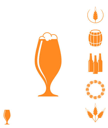 german culture: Beer Icon Illustration
