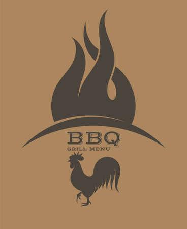 grill: BBQ Grill Illustration