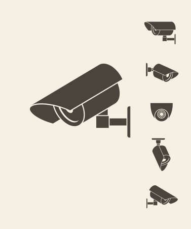 security icon: Security camera