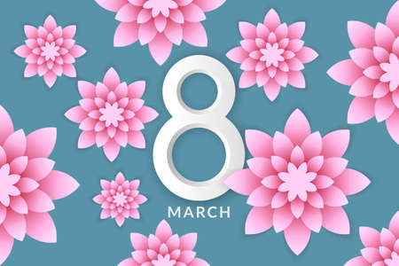 exotic flowers: International Womens Day. 8 March