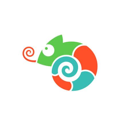 Chameleon Illusztráció