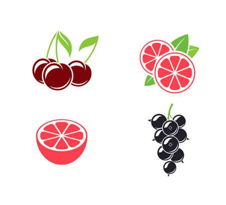 Fruit. Set Иллюстрация