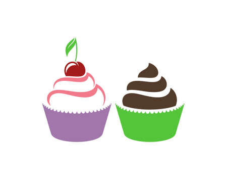homemade cake: Cupcake