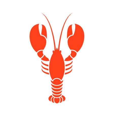 Lobster. Vector illustration