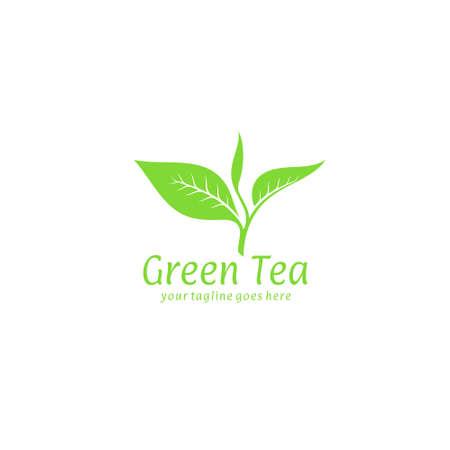 Green tea Иллюстрация