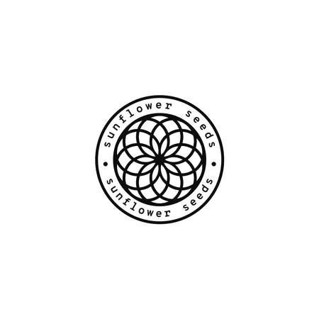 Sunflower seeds. Logo