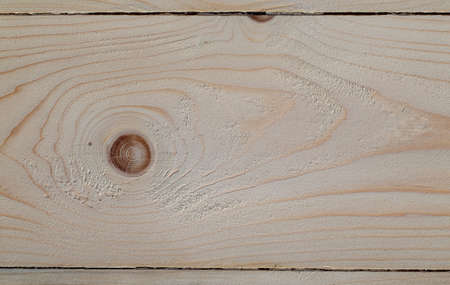 Planed pine Board with knots. Defects in wood processing, knots. Close-up photo. Stok Fotoğraf